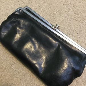 Hobo Lauren Black Wallet